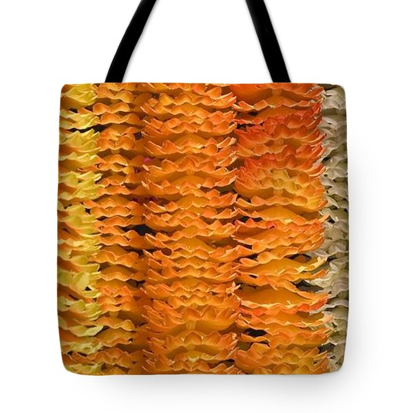 Tote Bag featuring the photograph Garlands by Mini Arora