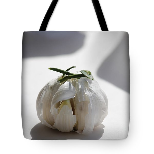 Garlic Clove Tote Bag