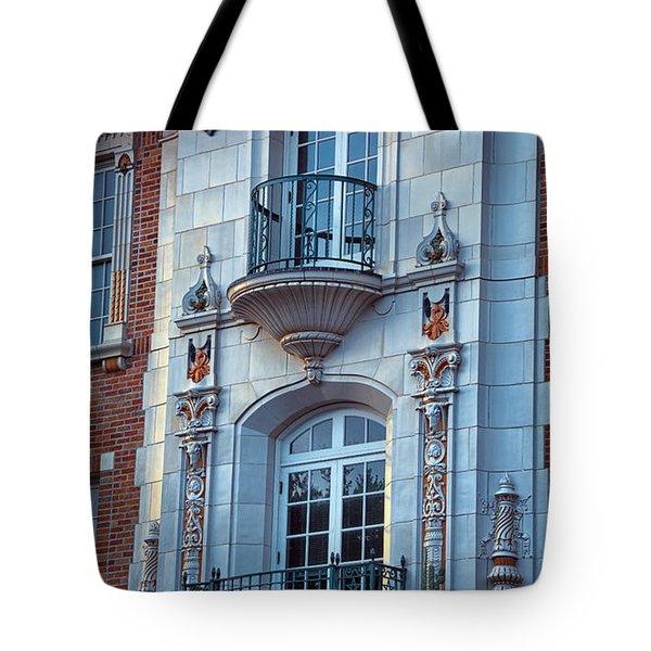 Garrison Hall Window Ut Tote Bag