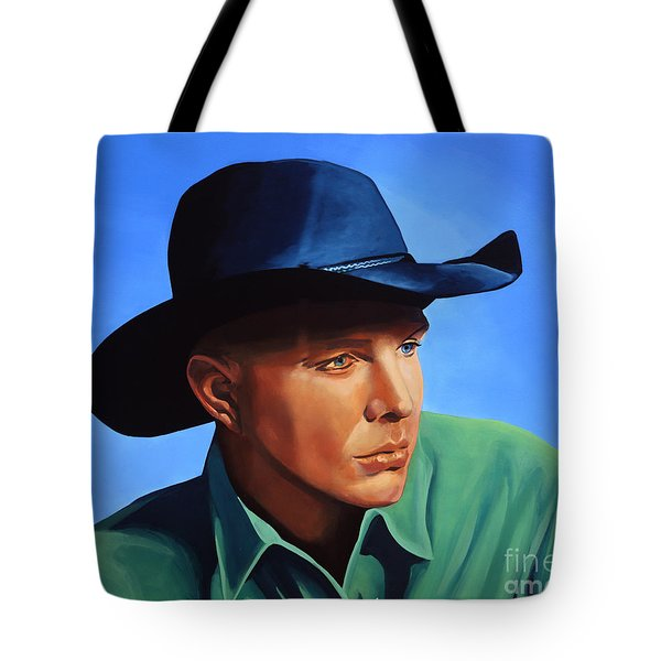 Garth Brooks Tote Bag