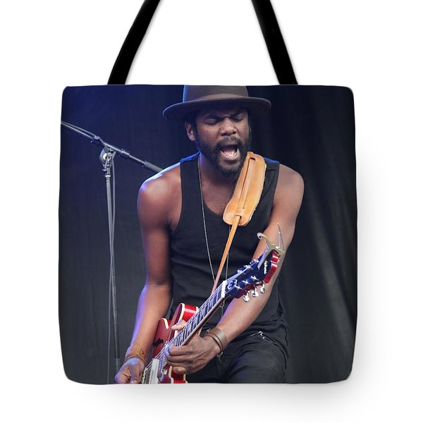 Gary Clark Jr Tote Bag