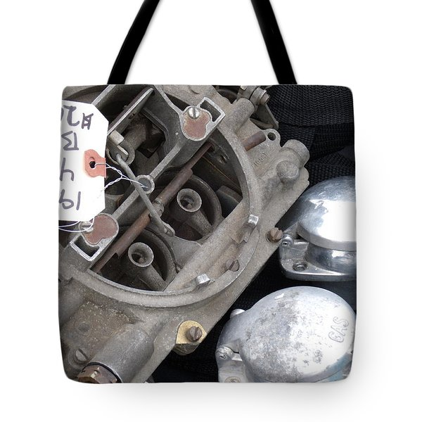 Gas In Tote Bag by David S Reynolds