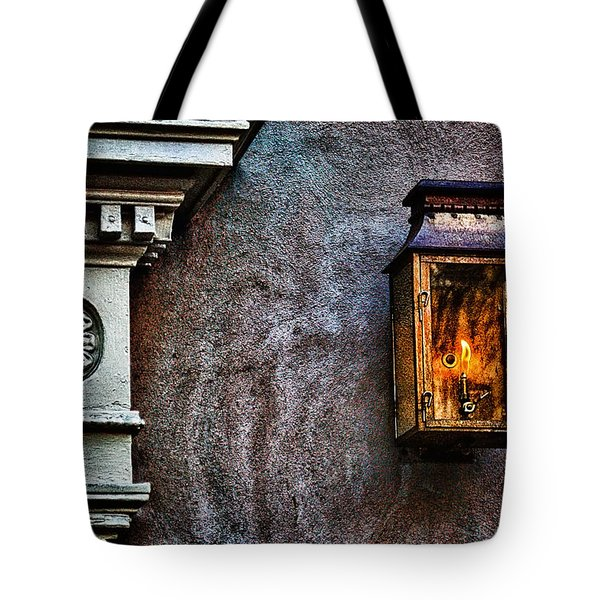 Gas Lantern Tote Bag by Renee Sullivan