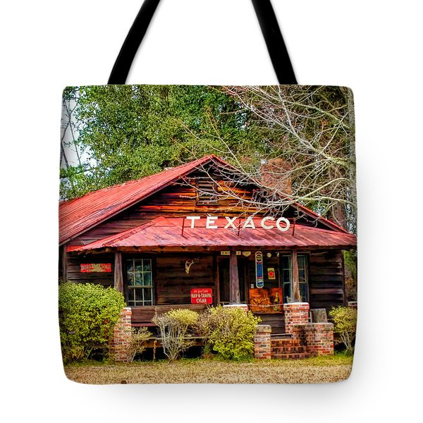 Tote Bag featuring the photograph Gas Station 1 by Dawn Eshelman