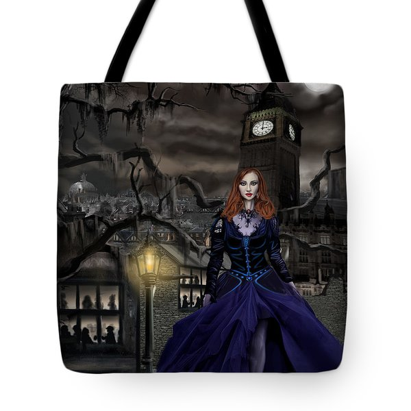 Gaslight Fantasia Cover Redhead Tote Bag