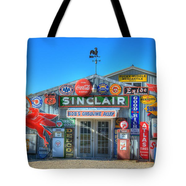 Gasoline Alley Tote Bag