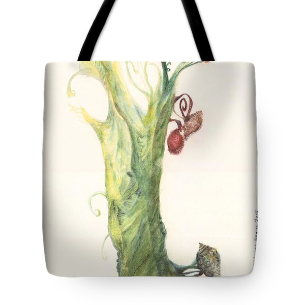 Gate Goddess Of Forest Nautica Tote Bag