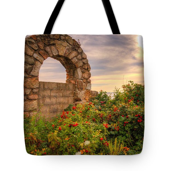 Gate To Nowhere  Tote Bag by Eti Reid