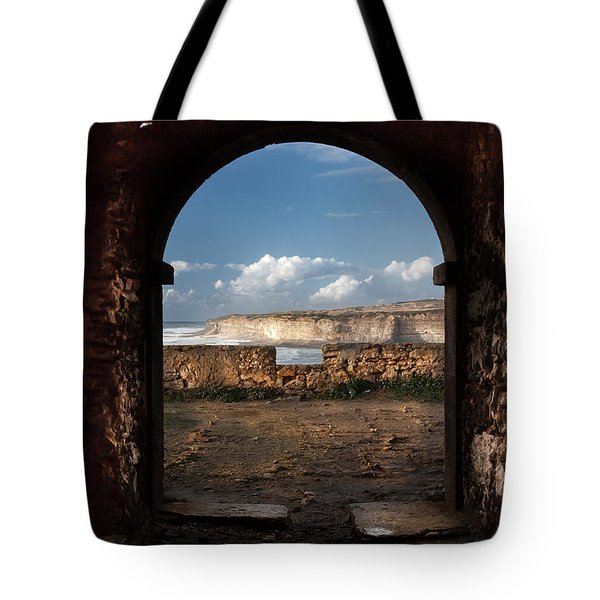 Tote Bag featuring the photograph Gate To The Sea by Edgar Laureano