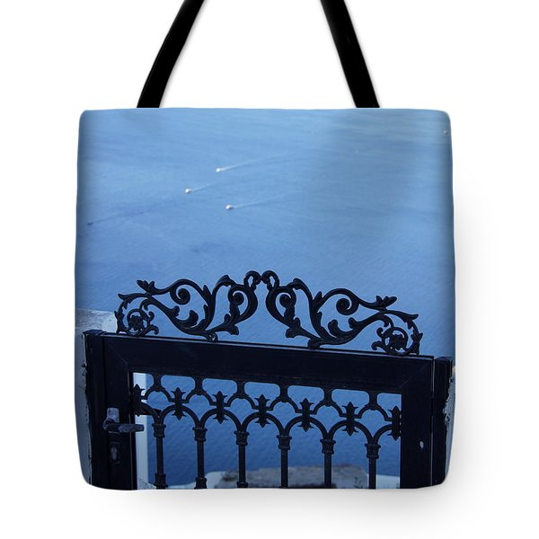 Gated Caldera Tote Bag