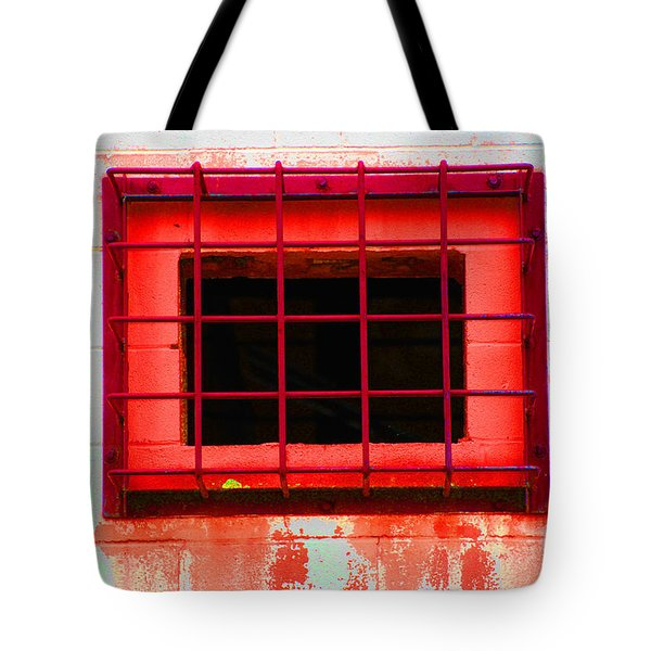 Tote Bag featuring the photograph Gated Community by Christiane Hellner-OBrien