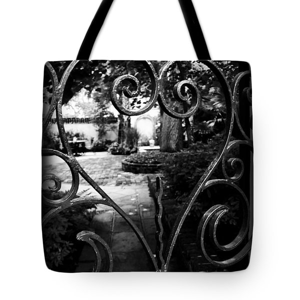 Gated Heart Tote Bag