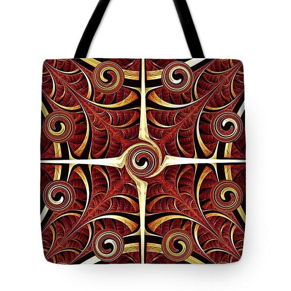 Gates Of Balance Tote Bag by Anastasiya Malakhova