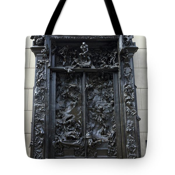 Gates Of Hell 1880 1900 Auguste Rodin Tote Bag