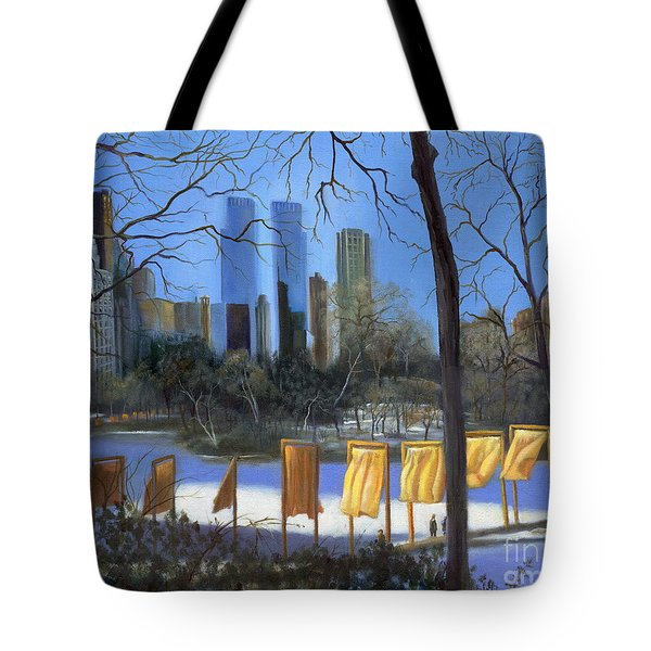 Gates Of New York Tote Bag by Marlene Book
