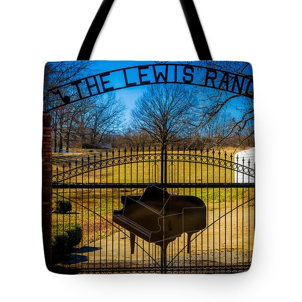 Gates Of Rock And Roll Tote Bag