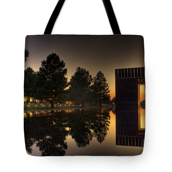 Gates Of Time Tote Bag