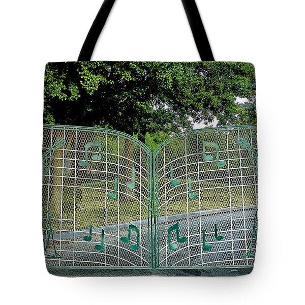 Gates To Graceland Tote Bag