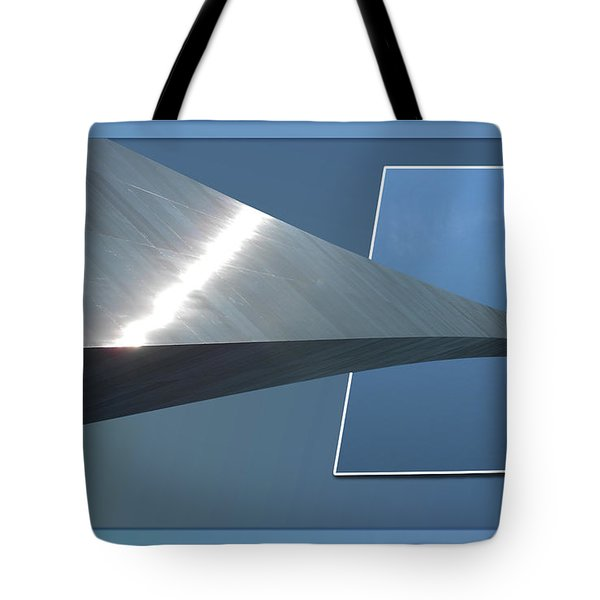 Gateway Arch St Louis 06 Tote Bag by Thomas Woolworth