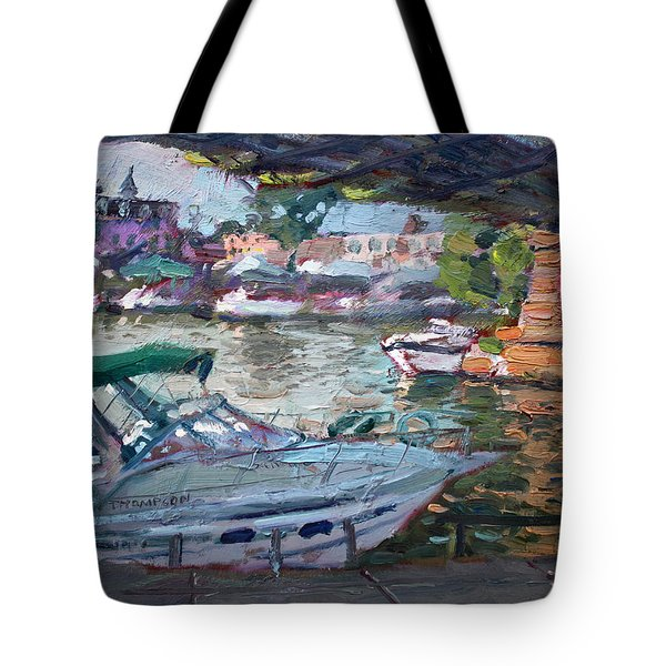 Gateway Harbor North Tonawanda Tote Bag
