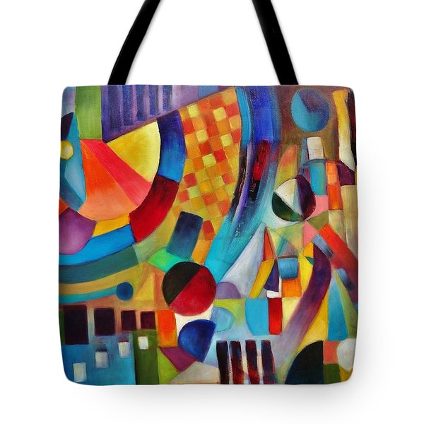 Tote Bag featuring the painting Gateway by Jason Williamson