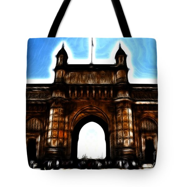 Gateway To Fractalius Tote Bag