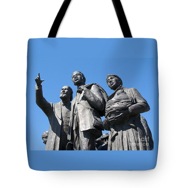 Gateway To Freedom - 2 Tote Bag by Ann Horn