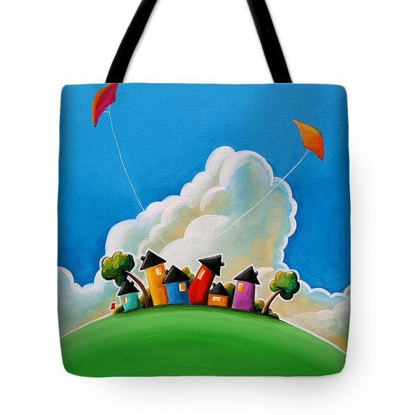 Gather Round Tote Bag