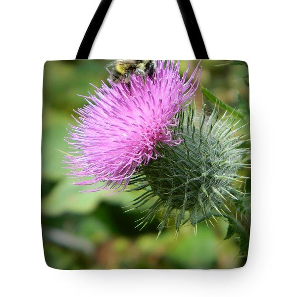 Gathering Pollen Tote Bag by Chalet Roome-Rigdon