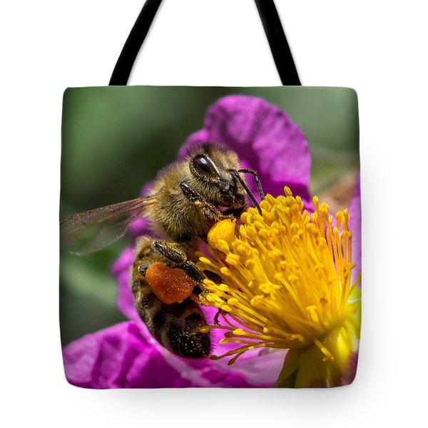 Gathering Pollen Tote Bag