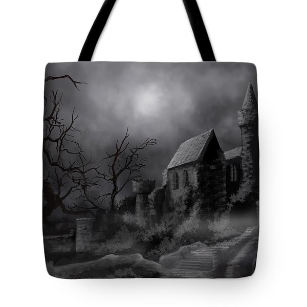 Gathluma's Castle Tote Bag by James Christopher Hill