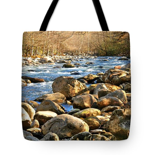 Gatlinberg River Tote Bag