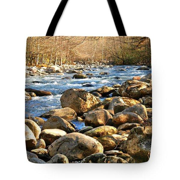 Gatlinberg River Tote Bag