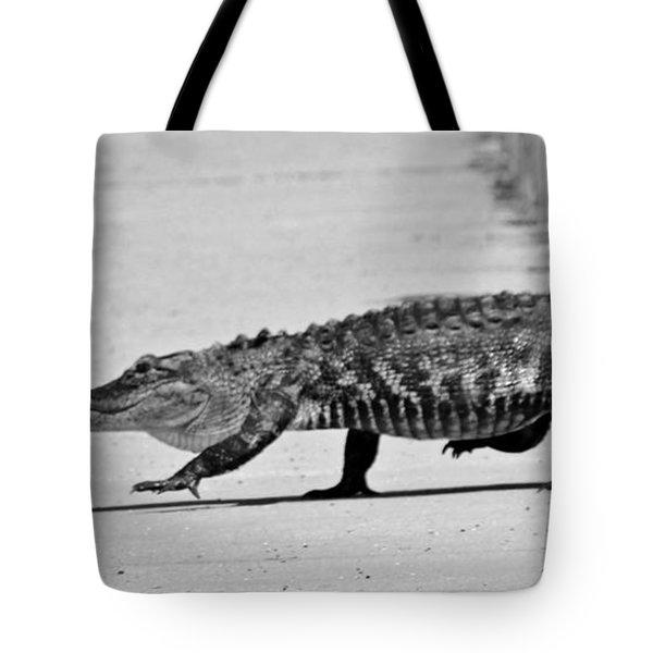 Gator Walking Tote Bag