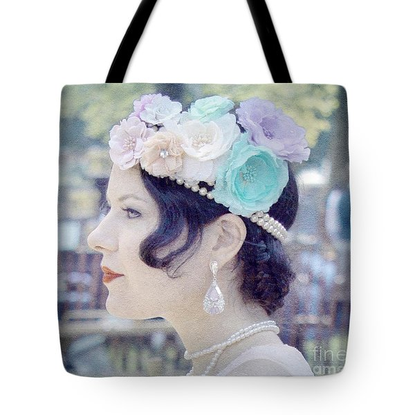 Gatsby Girl  Tote Bag
