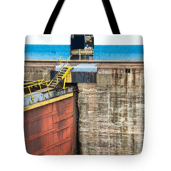 Gatun Locks Tote Bag