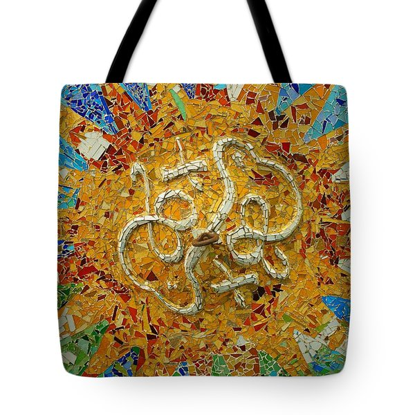 Gaudi Art Tote Bag