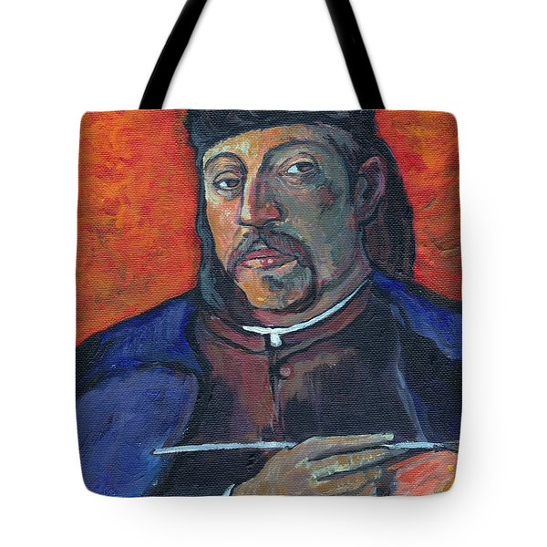 Gauguin Tote Bag by Tom Roderick
