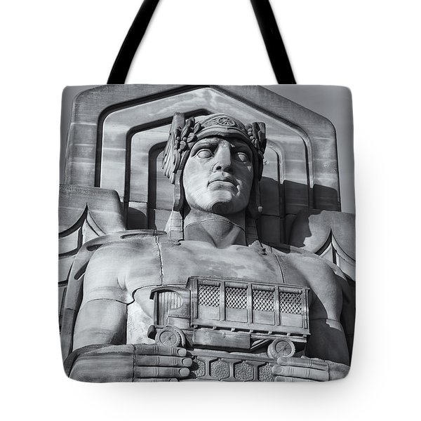 Guardian Of Traffic II Tote Bag