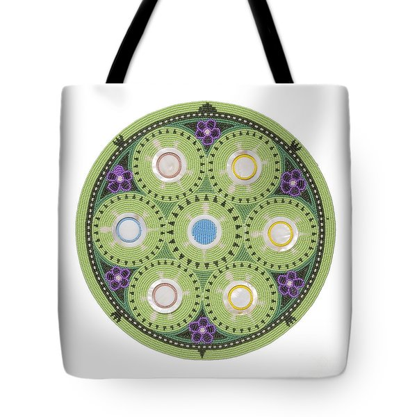 Cradleboard Beadwork Tote Bag