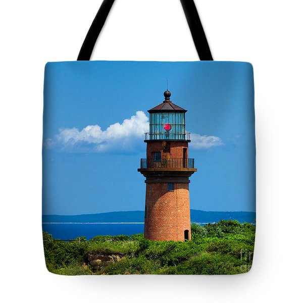Gay Head Light Tote Bag by Mark Miller