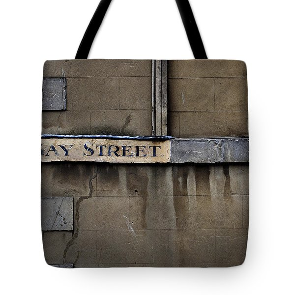 Gay Street Denise Dube Tote Bag