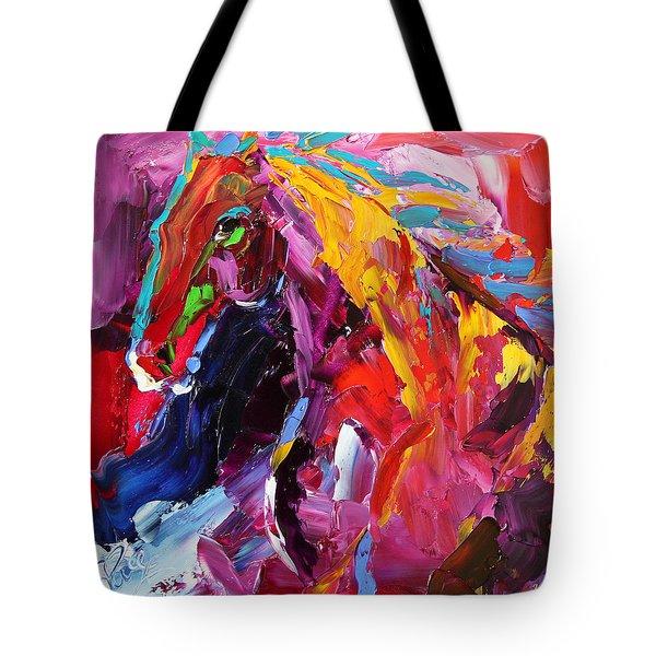 Gaze Of Strength Horse 22 - 2014 Tote Bag