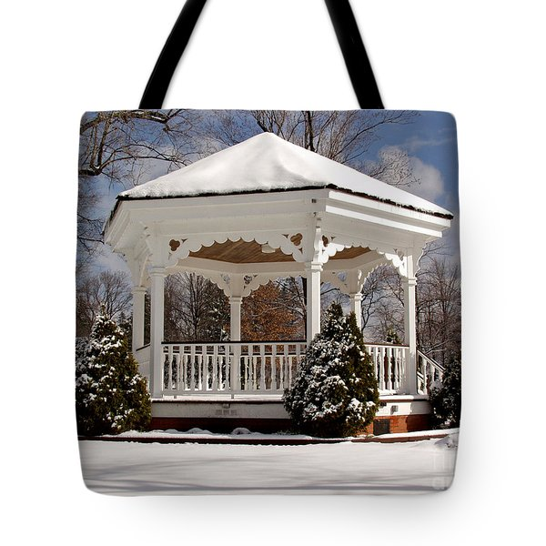 Gazebo At Olmsted Falls - 2 Tote Bag