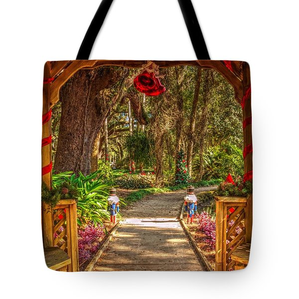 Gazebo Bells Tote Bag