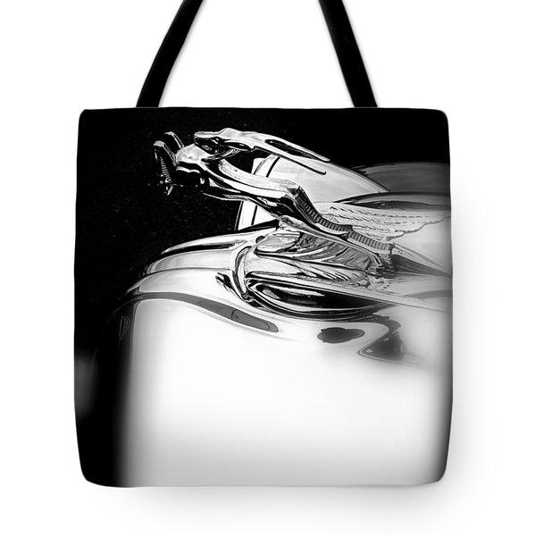 Gazelle Hood Ornament Tote Bag by Nick Kloepping