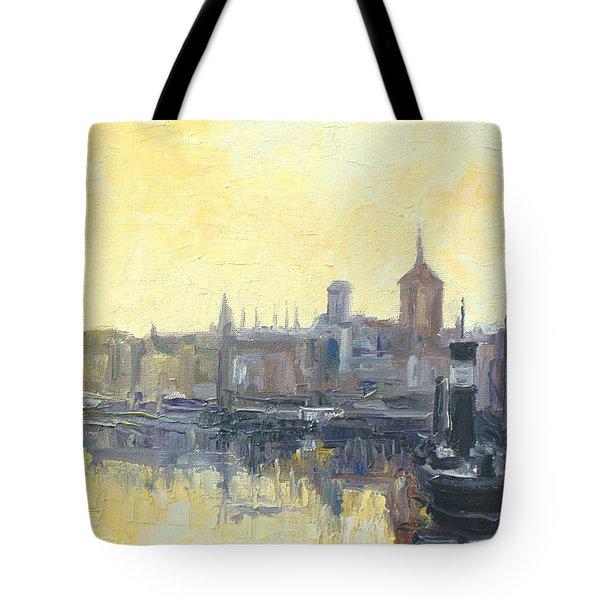 Gdansk Harbour - Poland Tote Bag