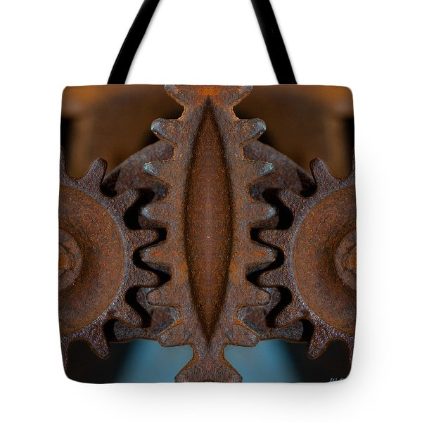 Gearing Up Tote Bag by WB Johnston