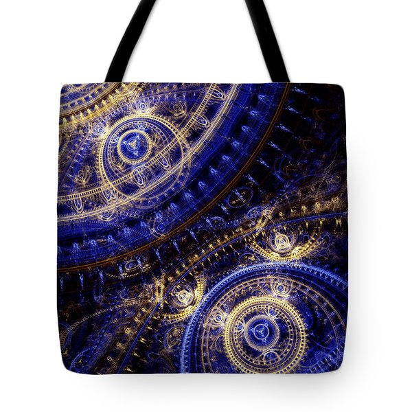 Gears Of Time Tote Bag