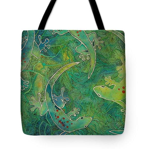 Gecko Magic Tote Bag